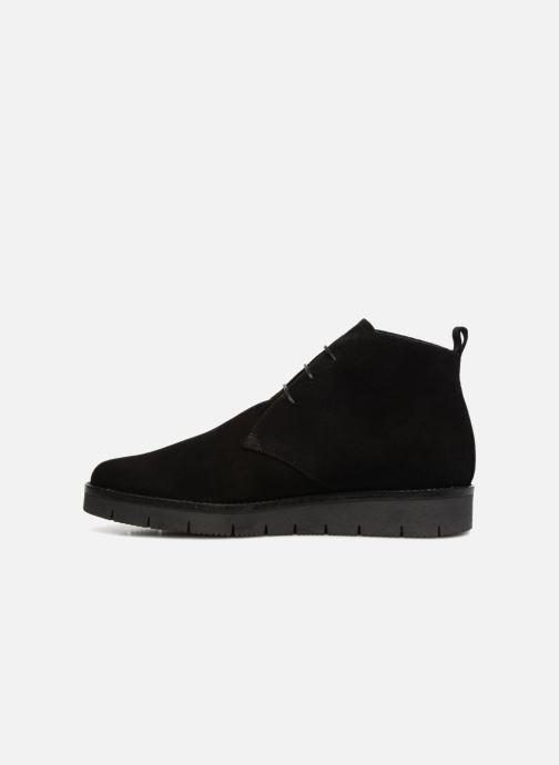 Elizabeth Et Stuart Bottines noir 334 Noir cuirvelours Boots Asoul uOZkTiPX