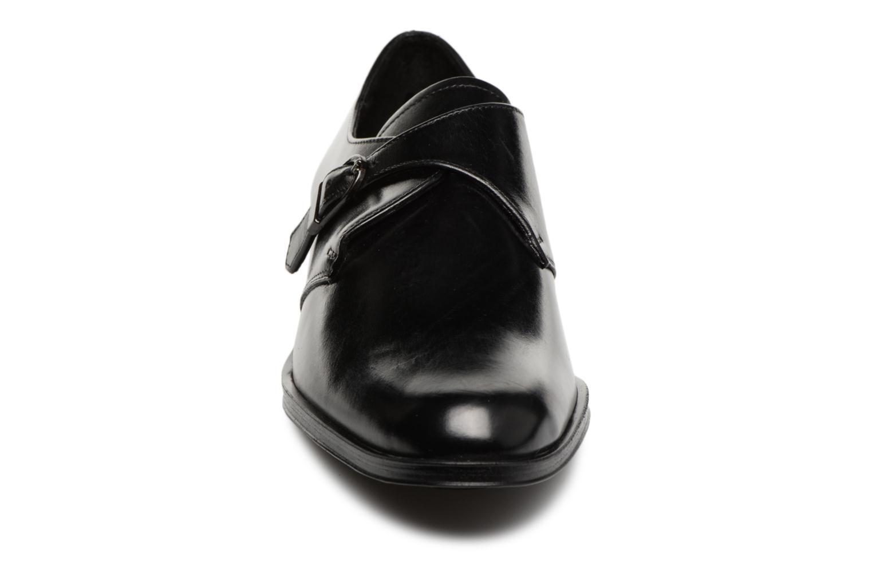 Cocas 304 Noir Elizabeth cuir noir Stuart 5nARRz