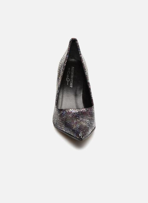 High heels Elizabeth Stuart Laston 320 Burgundy model view