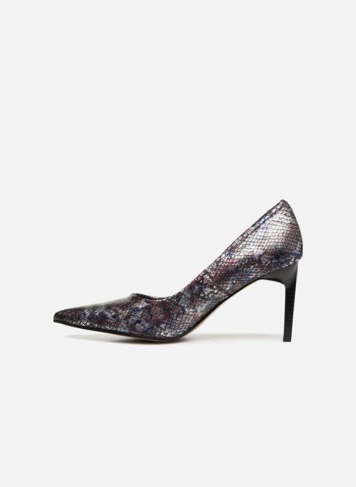High heels Elizabeth Stuart Laston 320 Burgundy front view