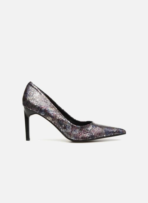 High heels Elizabeth Stuart Laston 320 Burgundy back view