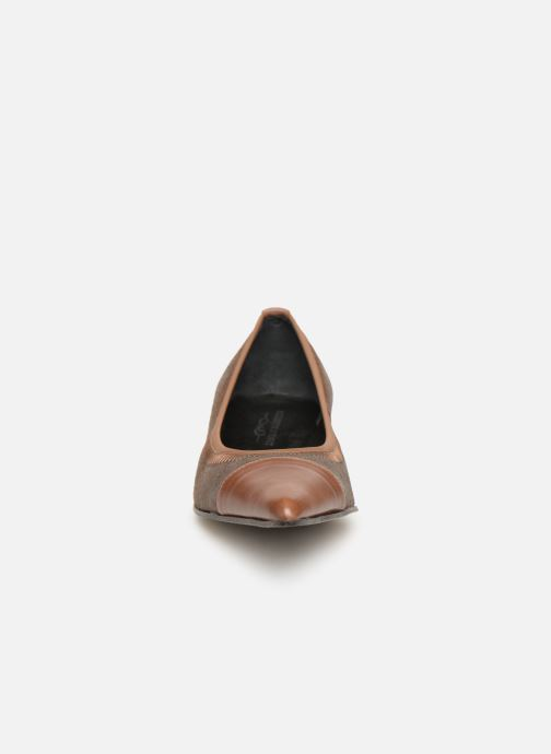 Ballet pumps Elizabeth Stuart Xim 731 Brown model view