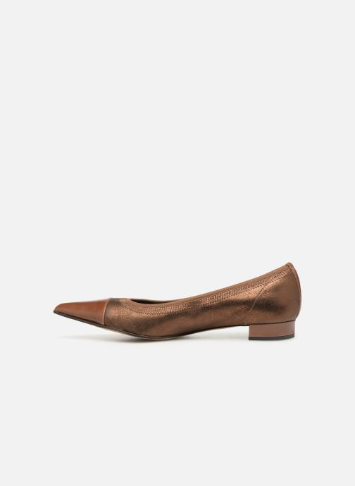 Ballet pumps Elizabeth Stuart Xim 731 Brown front view