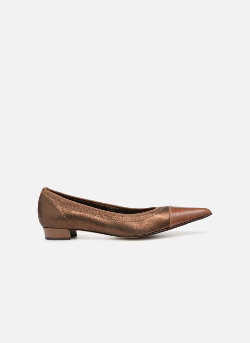 Ballet pumps Elizabeth Stuart Xim 731 Brown back view