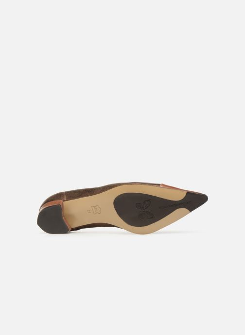 Ballet pumps Elizabeth Stuart Xim 731 Brown view from above