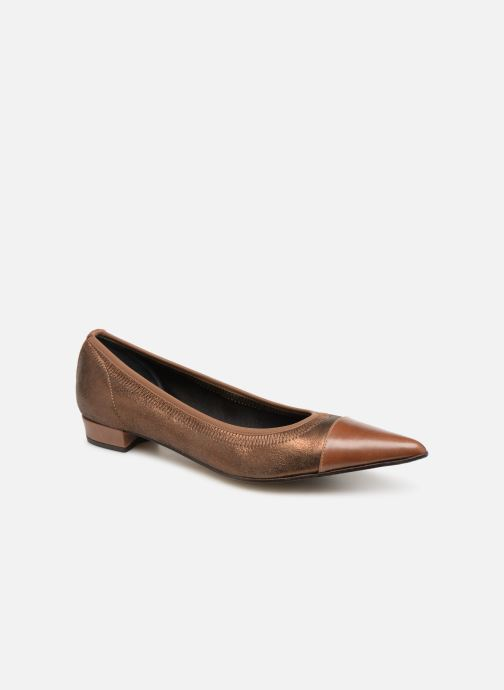 Ballet pumps Elizabeth Stuart Xim 731 Brown detailed view/ Pair view