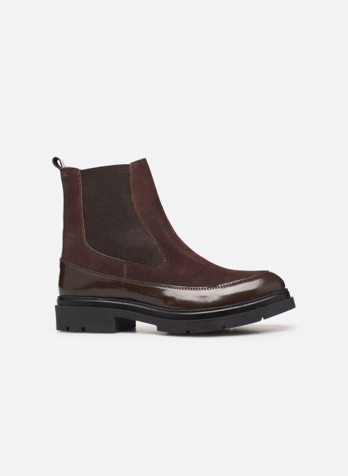 Bottines et boots Elizabeth Stuart Pesley 335 Marron vue derrière