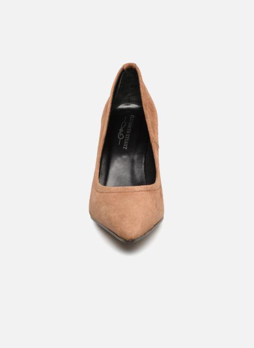 Escarpins Elizabeth Stuart Lona 300 Marron vue portées chaussures