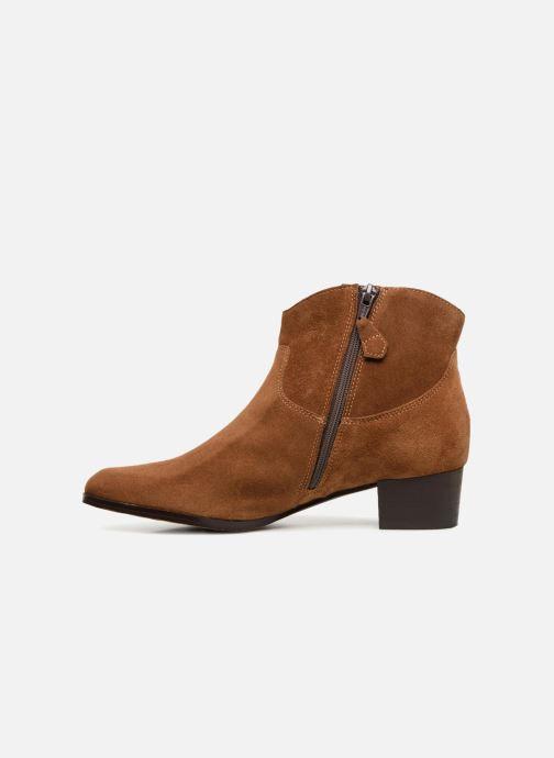 Bottines et boots Elizabeth Stuart Ilan 334 Marron vue face