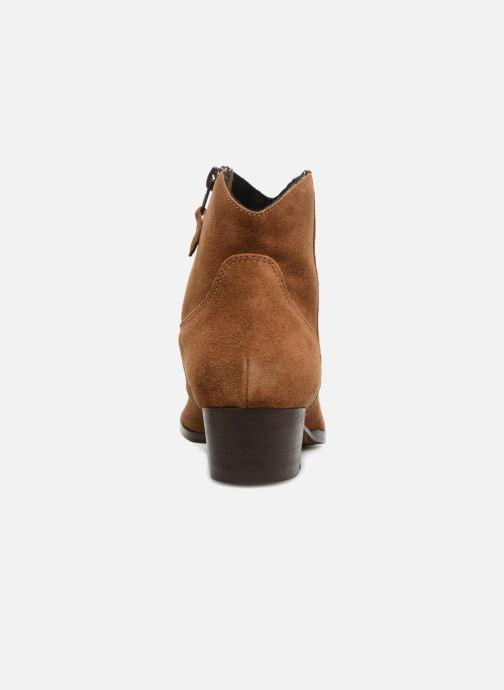 Bottines et boots Elizabeth Stuart Ilan 334 Marron vue droite