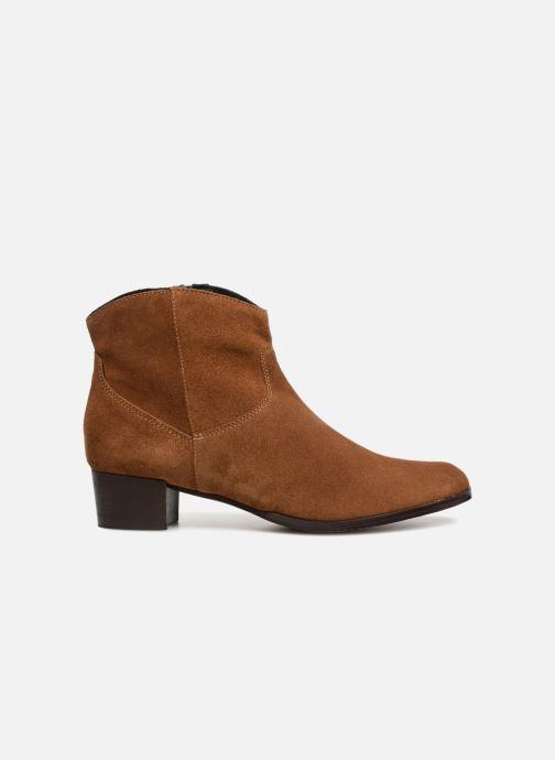 Bottines et boots Elizabeth Stuart Ilan 334 Marron vue derrière