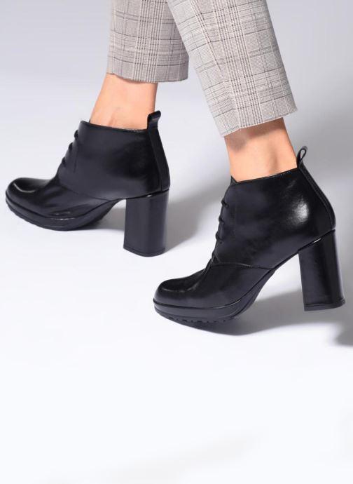 Bottines et boots Elizabeth Stuart Sygur 304 Noir vue bas / vue portée sac