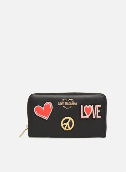 Petite Maroquinerie Love Moschino CIAO WALLET Noir vue détail/paire