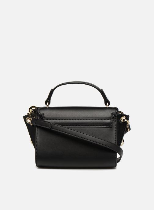 Handbags Love Moschino GOLDEN BALLS BAG Black front view
