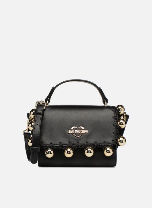 Handbags Love Moschino GOLDEN BALLS BAG Black detailed view/ Pair view