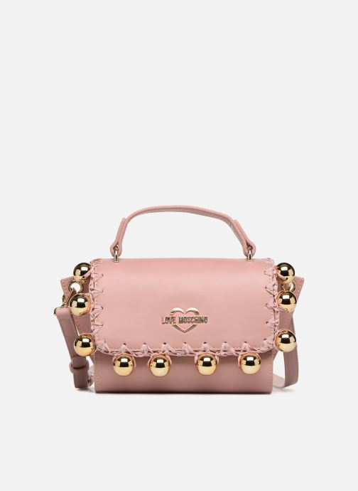 Sacs à main Love Moschino GOLDEN BALLS BAG Rose vue détail/paire