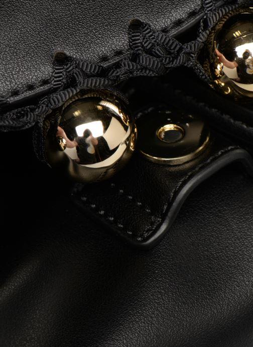 Rucksäcke Love Moschino GOLDEN BALLS BAGPACK schwarz ansicht von hinten
