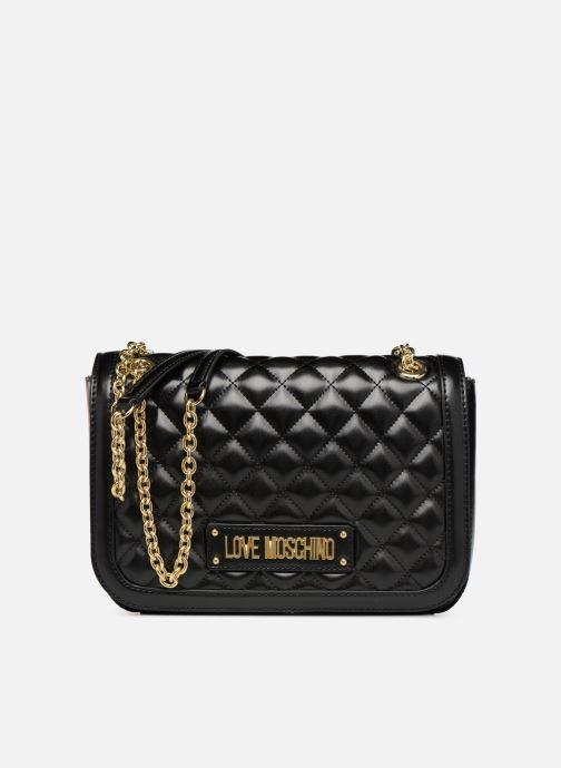 Bolsos de mano Love Moschino NEW QUILTED Porté épaule Negro vista de detalle / par