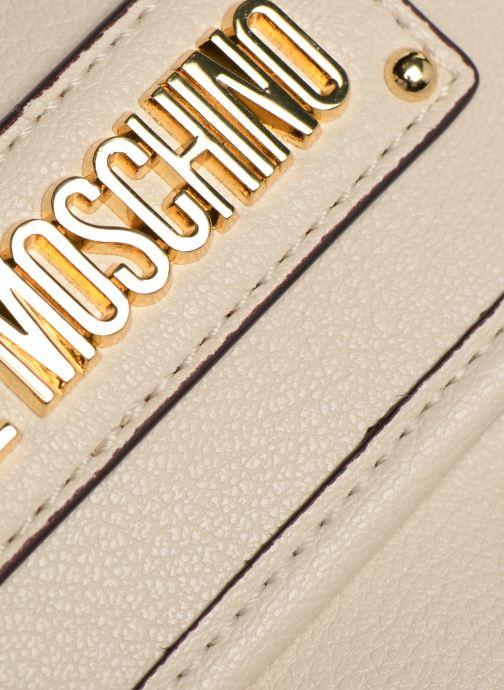 Bolsos de mano Love Moschino LETTERING LM Crossbody Blanco vistra trasera