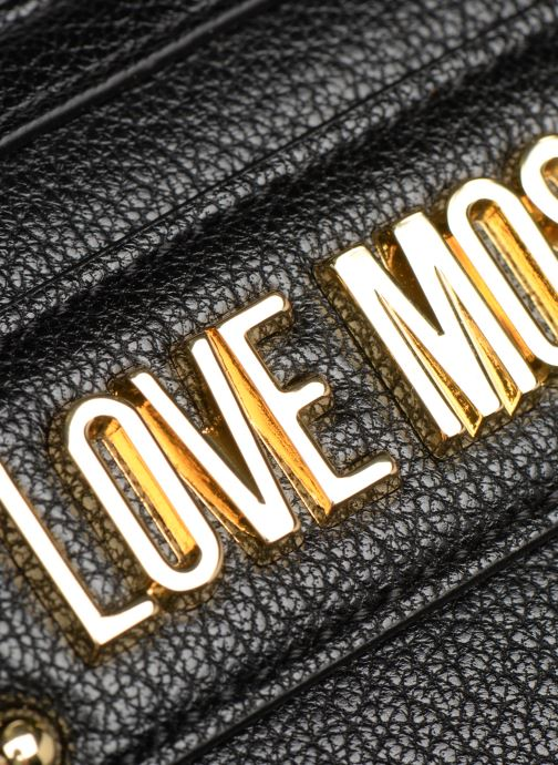 Wallets & cases Love Moschino LETTERING LM Wallet Black view from the left
