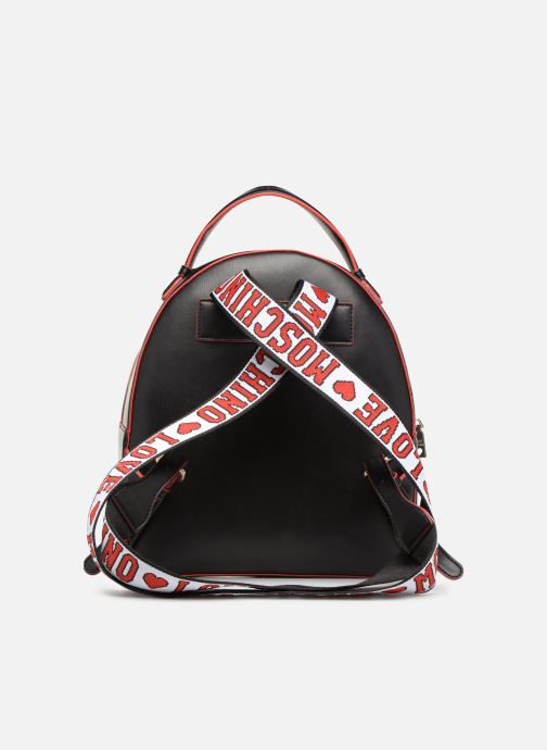 Sacs à dos Love Moschino BACK TO SCHOOL Backpack Blanc vue face