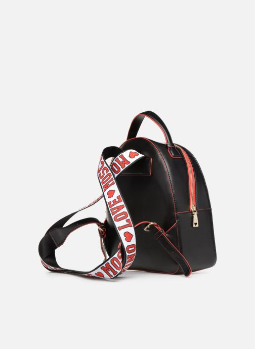 Sacs à dos Love Moschino BACK TO SCHOOL Backpack Blanc vue droite
