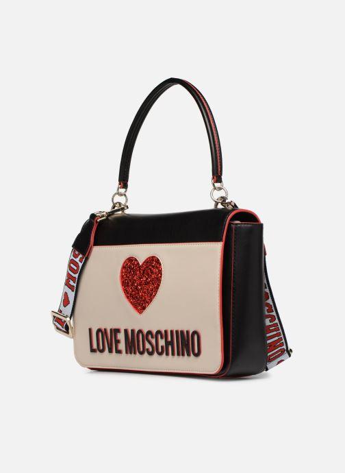 Bolsos de mano Love Moschino BACK TO SCHOOL Porté épaule Blanco vista del modelo