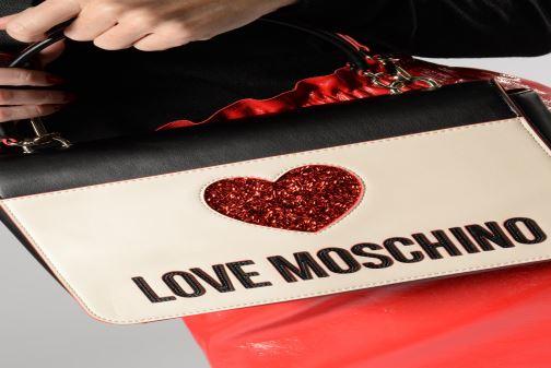Bolsos de mano Love Moschino BACK TO SCHOOL Porté épaule Blanco vista de abajo