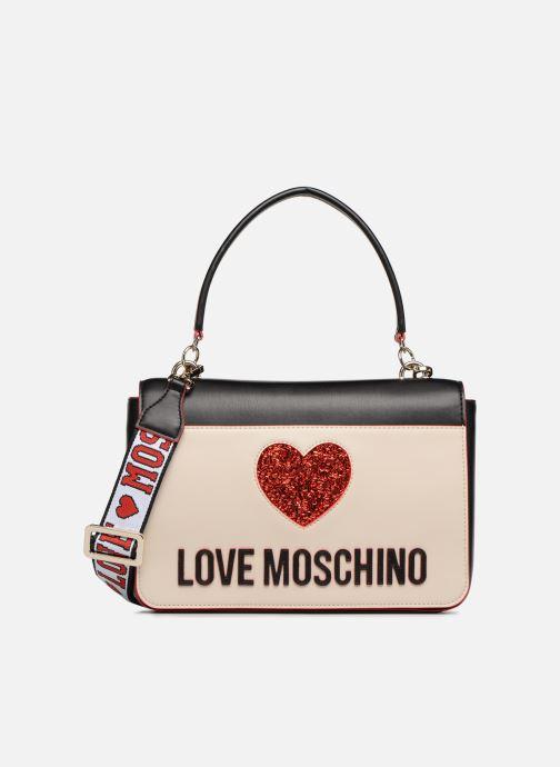 Bolsos de mano Love Moschino BACK TO SCHOOL Porté épaule Blanco vista de detalle / par