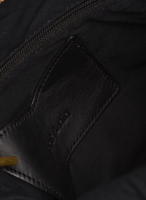 Handtassen Nat & Nin JULIET Zwart achterkant