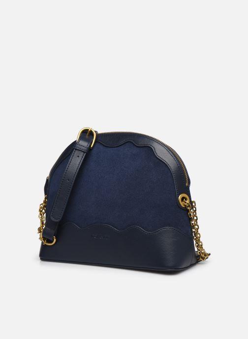Handtaschen Nat & Nin JULIET blau schuhe getragen