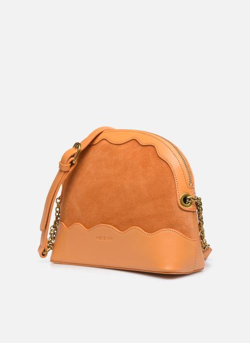 Handtaschen Nat & Nin JULIET gelb schuhe getragen