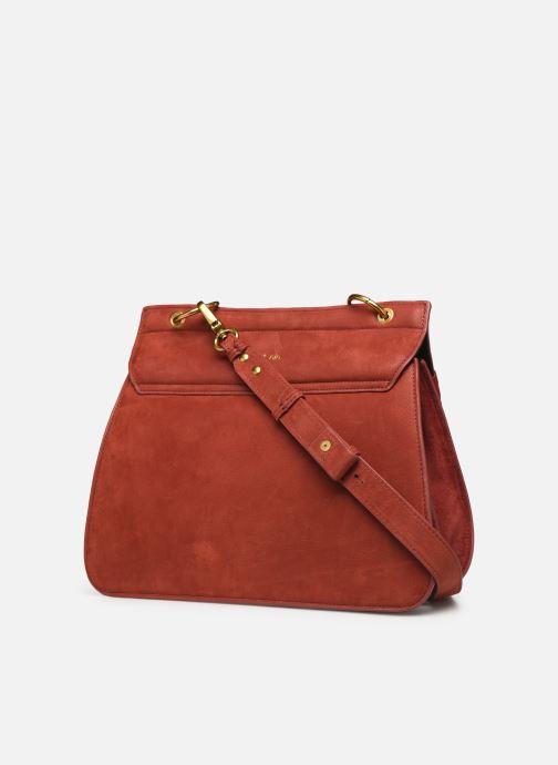 Handtaschen Nat & Nin VITTORIA rot ansicht von rechts