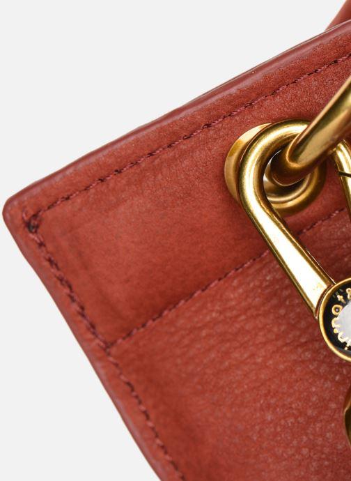 Handtaschen Nat & Nin VITTORIA rot ansicht von links