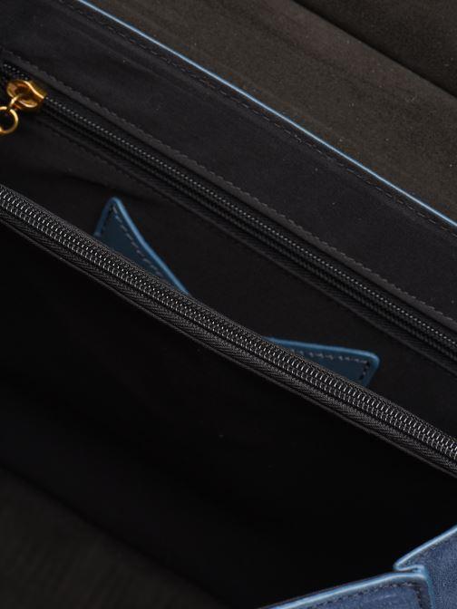 Handtassen Nat & Nin VITTORIA Blauw achterkant