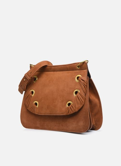 Handtaschen Nat & Nin VITTORIA braun schuhe getragen