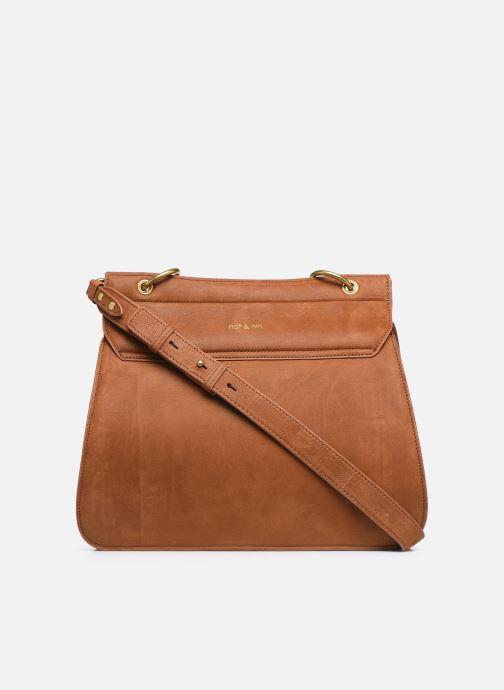 Handtaschen Nat & Nin VITTORIA braun ansicht von vorne