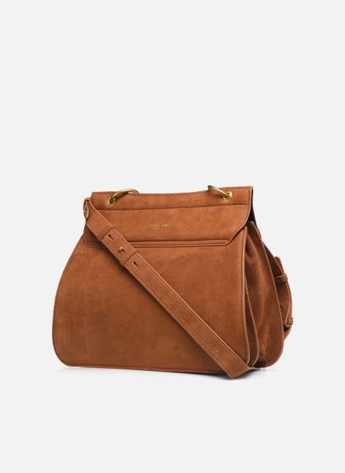 Handtaschen Nat & Nin VITTORIA braun ansicht von rechts