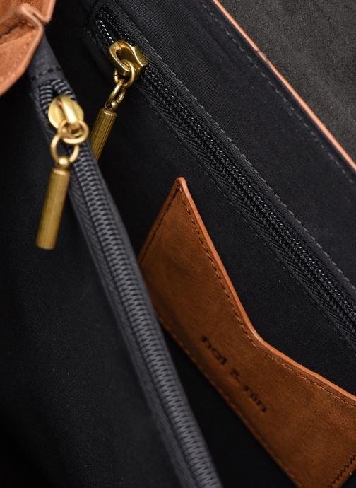 Handtaschen Nat & Nin VITTORIA braun ansicht von links