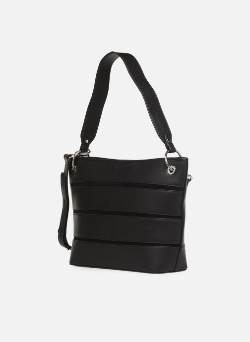 Handtaschen Nat & Nin CALLIE schwarz schuhe getragen