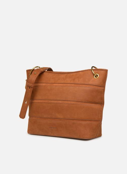 Handtaschen Nat & Nin CALLIE braun schuhe getragen