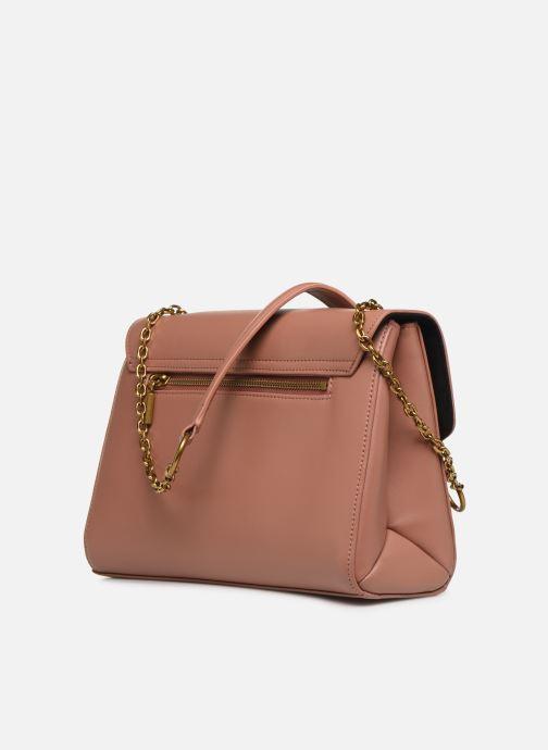 Handtaschen Nat & Nin ALENA rosa ansicht von rechts