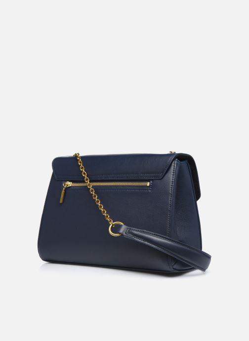 Handtaschen Nat & Nin ALENA blau ansicht von rechts