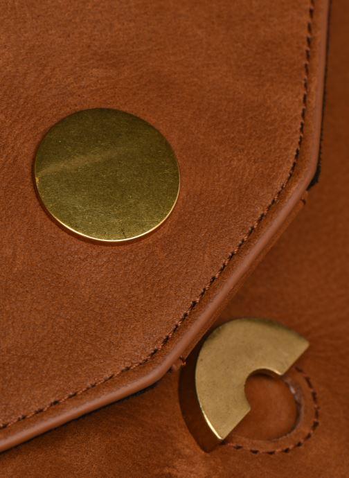 Bolsos de mano Nat & Nin ALENA Marrón vista lateral izquierda