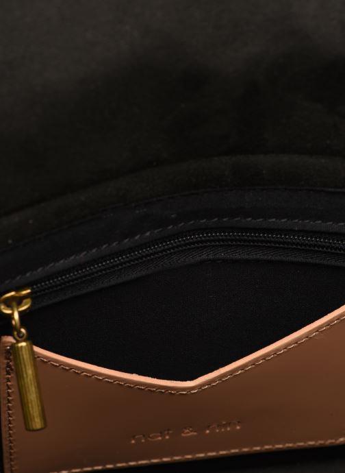 Handtassen Nat & Nin CLIO Beige achterkant