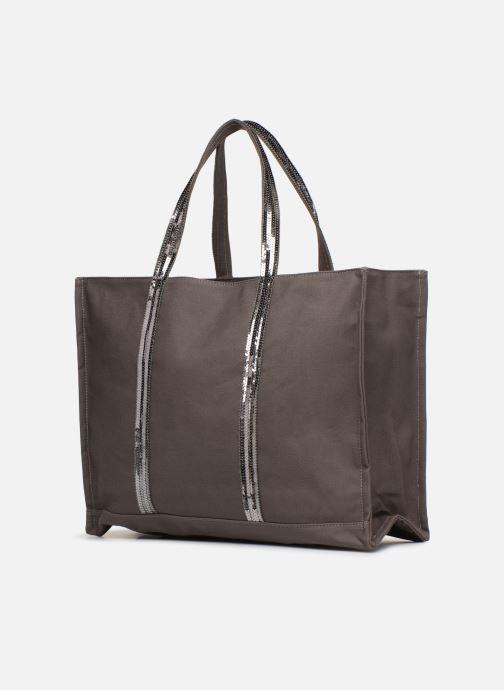 Handtaschen Vanessa Bruno Cabas EST OUEST braun ansicht von rechts