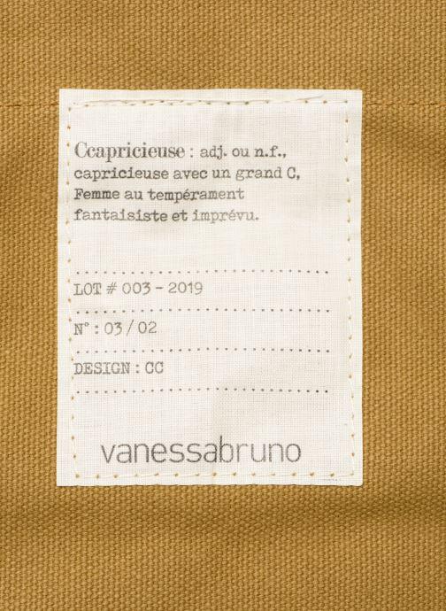 Bolsos de mano Vanessa Bruno Cabas M Capricieuse Beige vista lateral izquierda