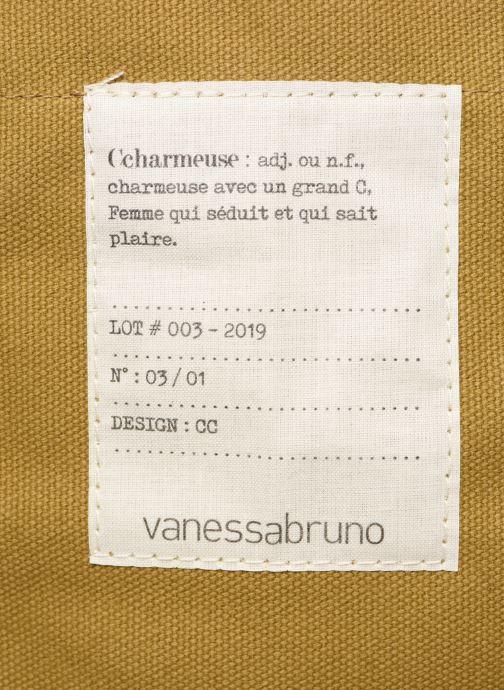 Bolsos de mano Vanessa Bruno Cabas M Charmeuse Beige vista lateral izquierda
