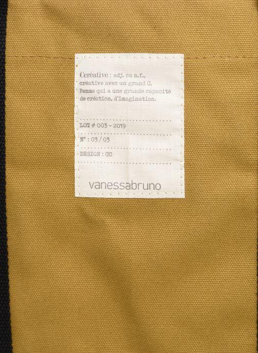 Bolsos de mano Vanessa Bruno Cabas M Créative Beige vista lateral izquierda