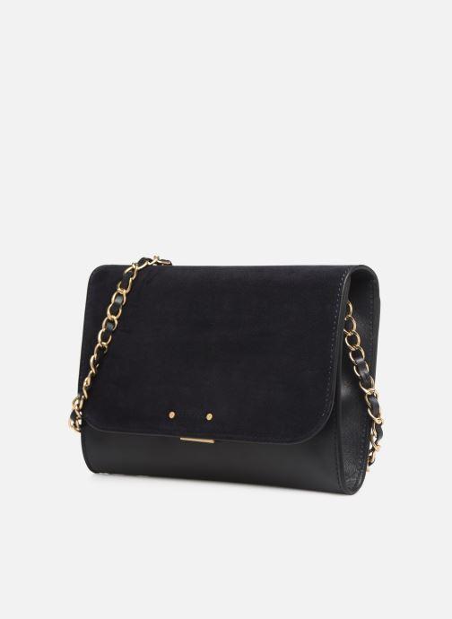 Bolsos de mano Vanessa Bruno Day Clutch Azul vista del modelo